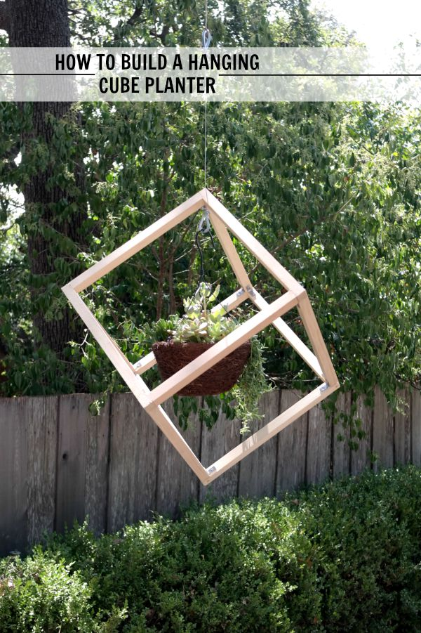 How to build a DIY hanging planter