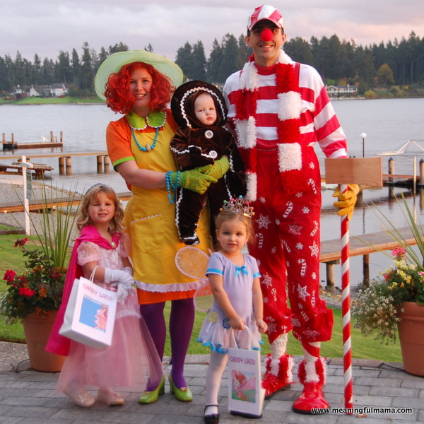 candyland family Halloween costume