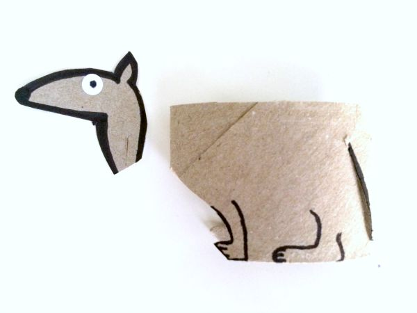 Tons of crafts with toilet paper rolls