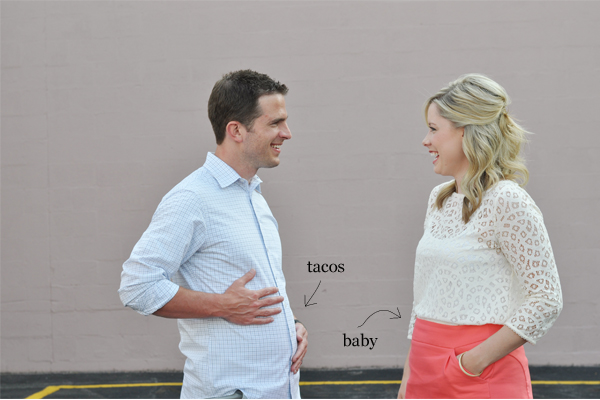 Pregnancy annoucement ideas