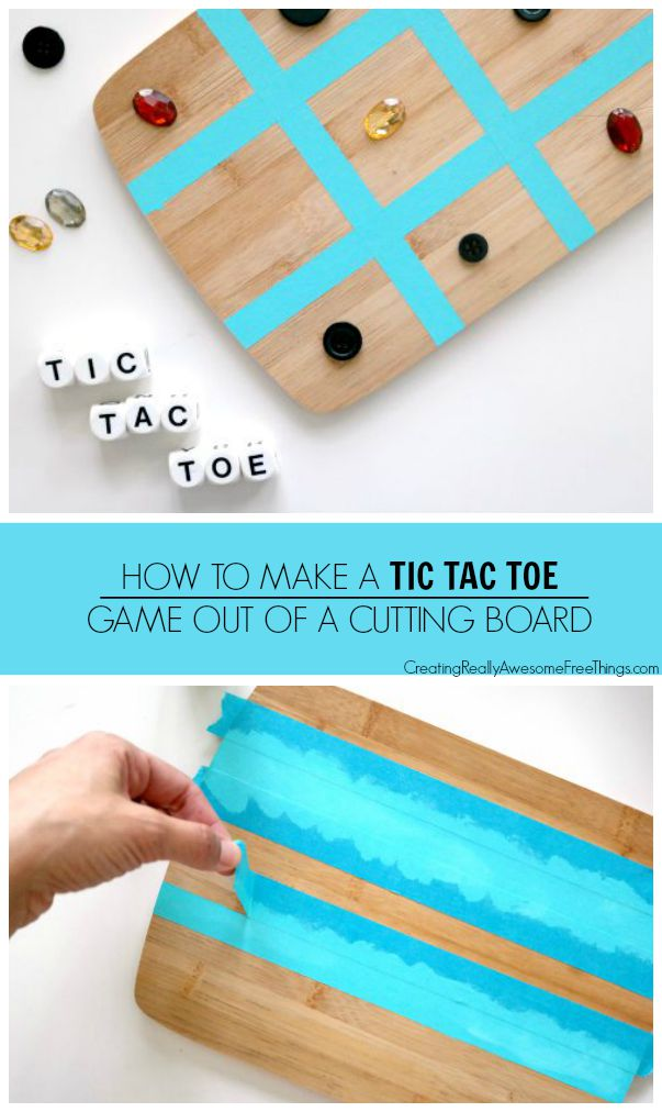 How to make an outdoor Tic Tac Toe game!