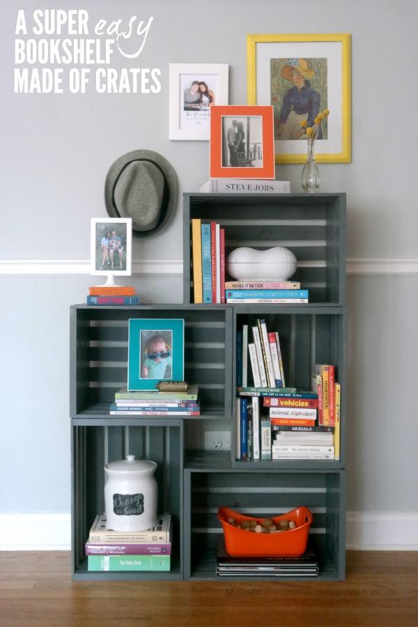 How to make a bookshelf c r a f t - Book shelf pics ...