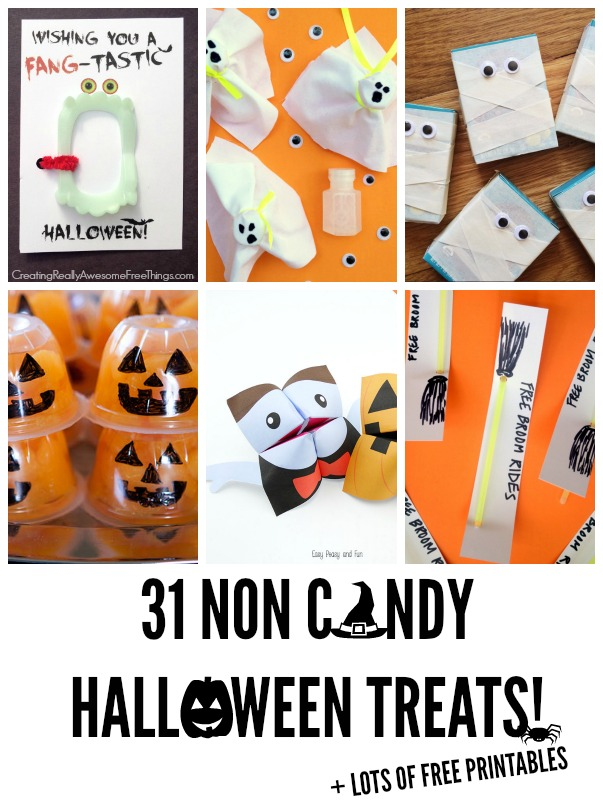 Tons of healthy Halloween food ideas!