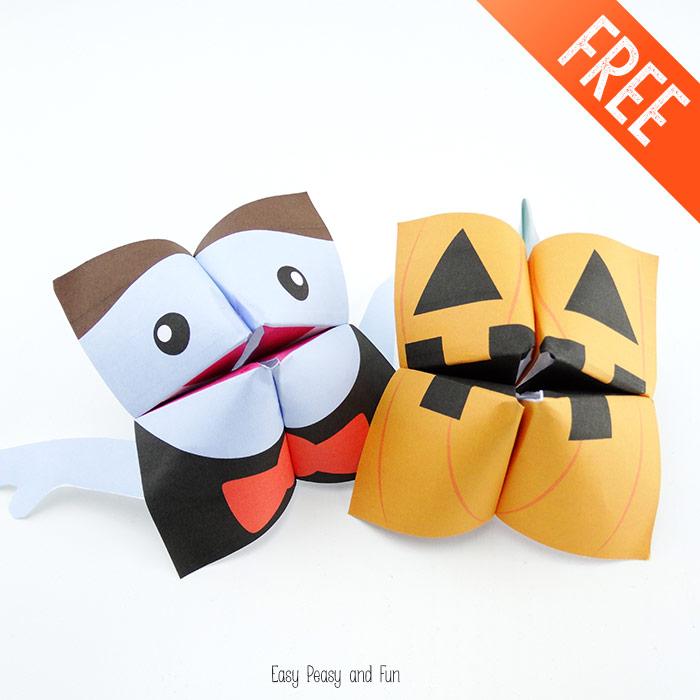 31 Non Candy Halloween Treats CRAFT