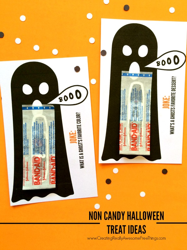 Bandaid Ghosts Halloween Printable by C.R.A.F.T.