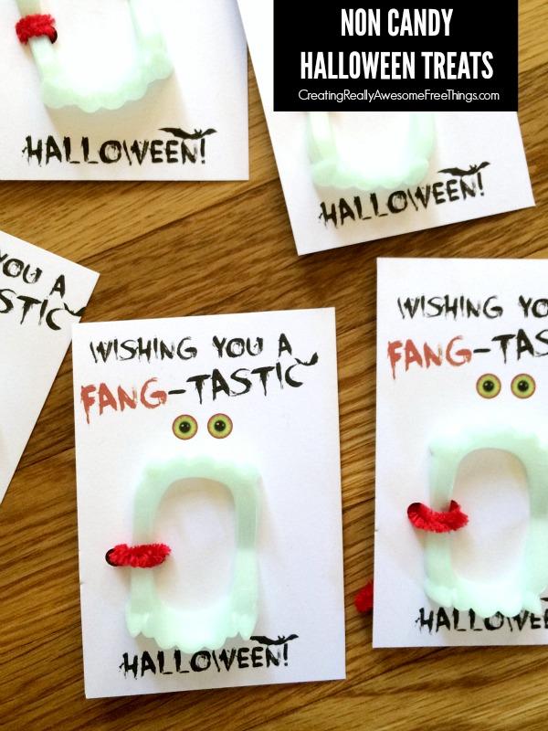Non candy Halloween ideas