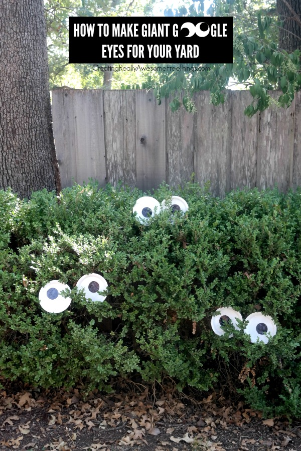 how to make giant google eyes for halloween