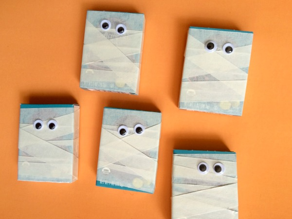 Mummy craft for kids