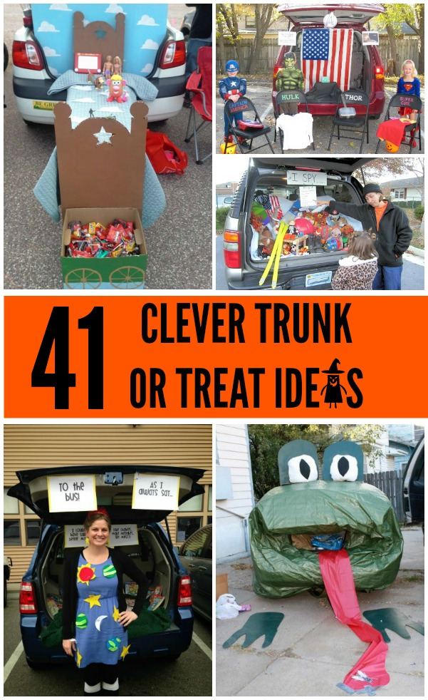 41 clever trunk or treat ideas!