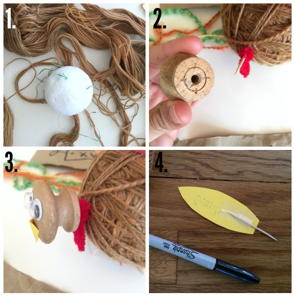 A super cute and easy Thanksgiving craft... thankful turkey!