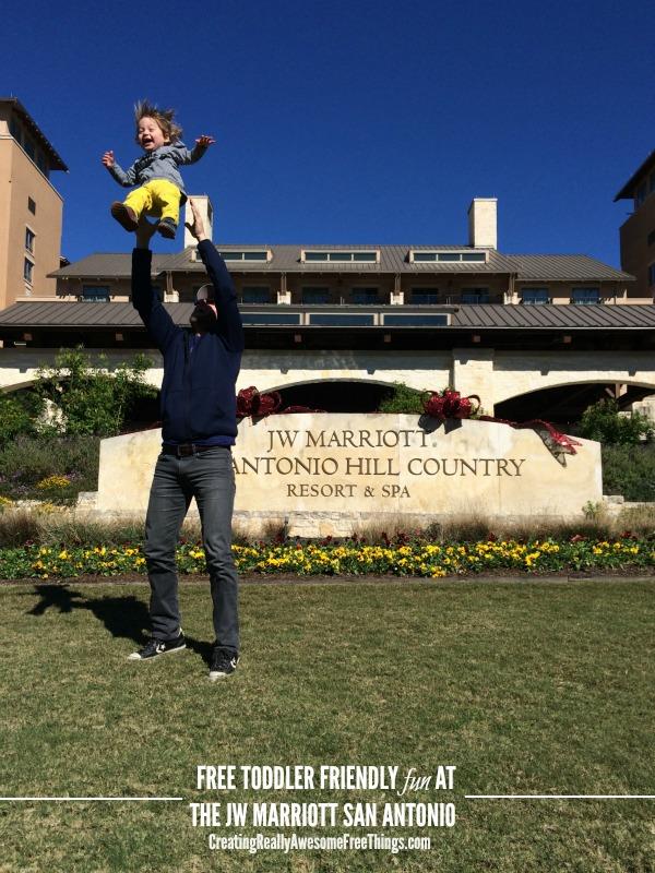 Toddler friendly fun at JW Marriott San Antonio
