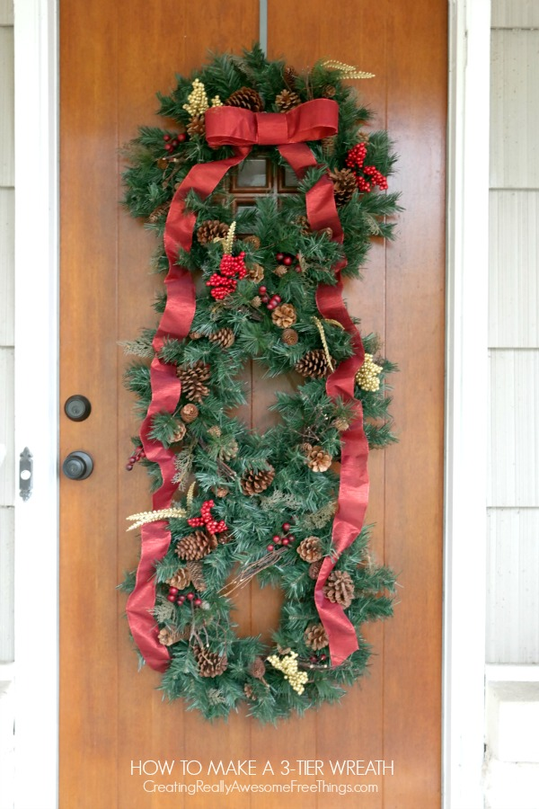 72 christmas traditions c r a f t - Awesome christmas wreath with homemade style ...