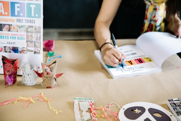 Creating Really Awesome Free Things Book Launch