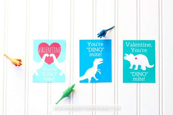 Free Printable Dinosaur Valentines For Kids