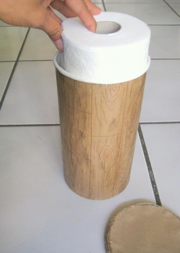 Toilet paper organization