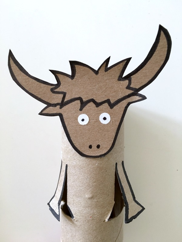 yak toilet paper roll craft for kids