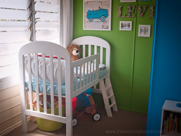 DIY loft toddler bed