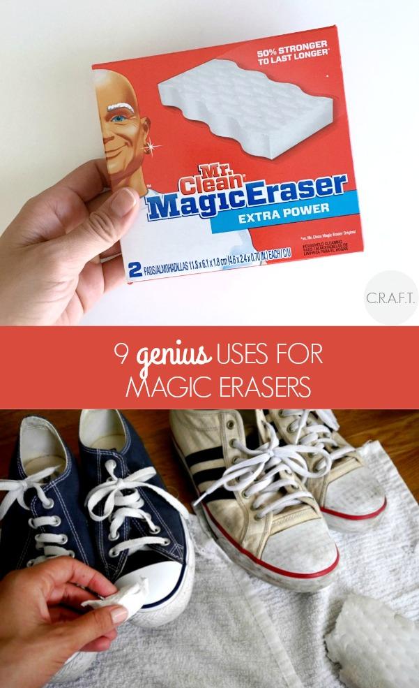 9 Genius uses for a magic erasers