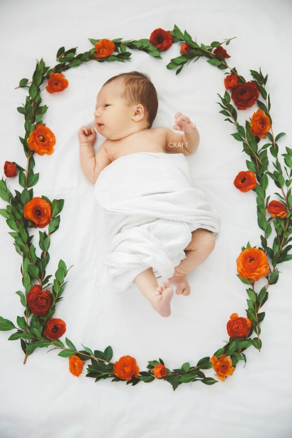 Newborn pictures of Amelia