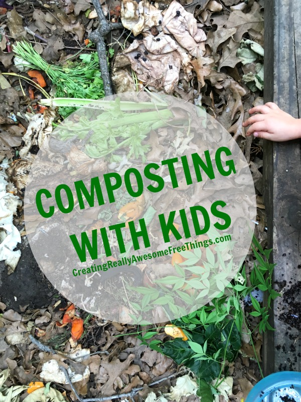 The low down on composting with kids!