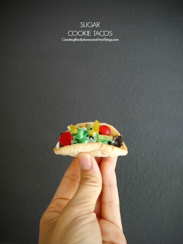 Sugar Cookie Tacos