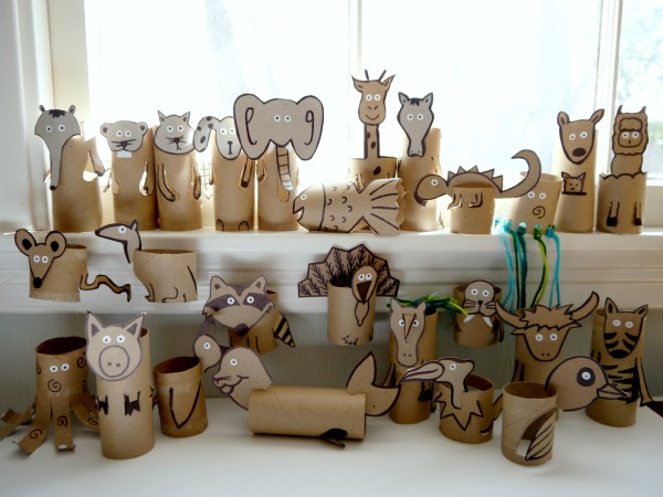 Toilet paper roll crafts for kids c r a f t for Paper roll projects