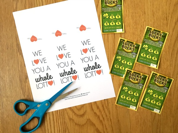 Free printable Farther's Day cards!