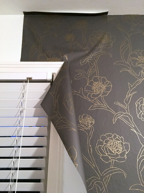 Temporary Wall Paper how to apply removable wallpaper - c.r.a.f.t.