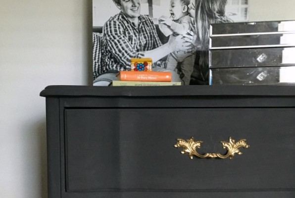 Dresser makeover with Thumbtack.com