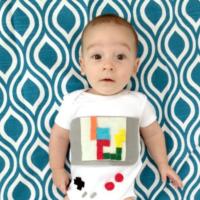 DIY Baby Game Boy Costume