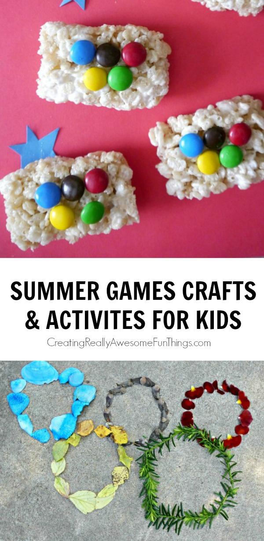 Summer Games Crafts for Kids