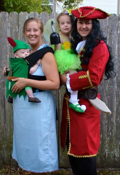 Baby wearing costume ideas