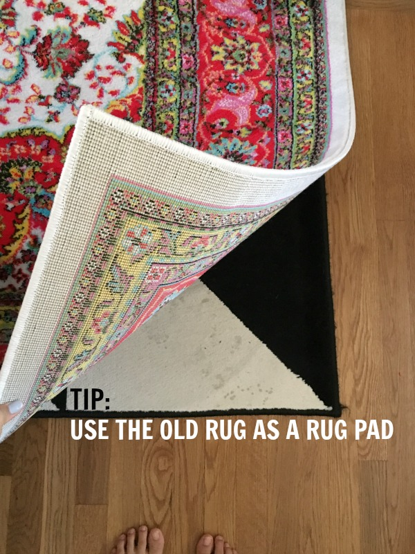 Rug pad life hack!