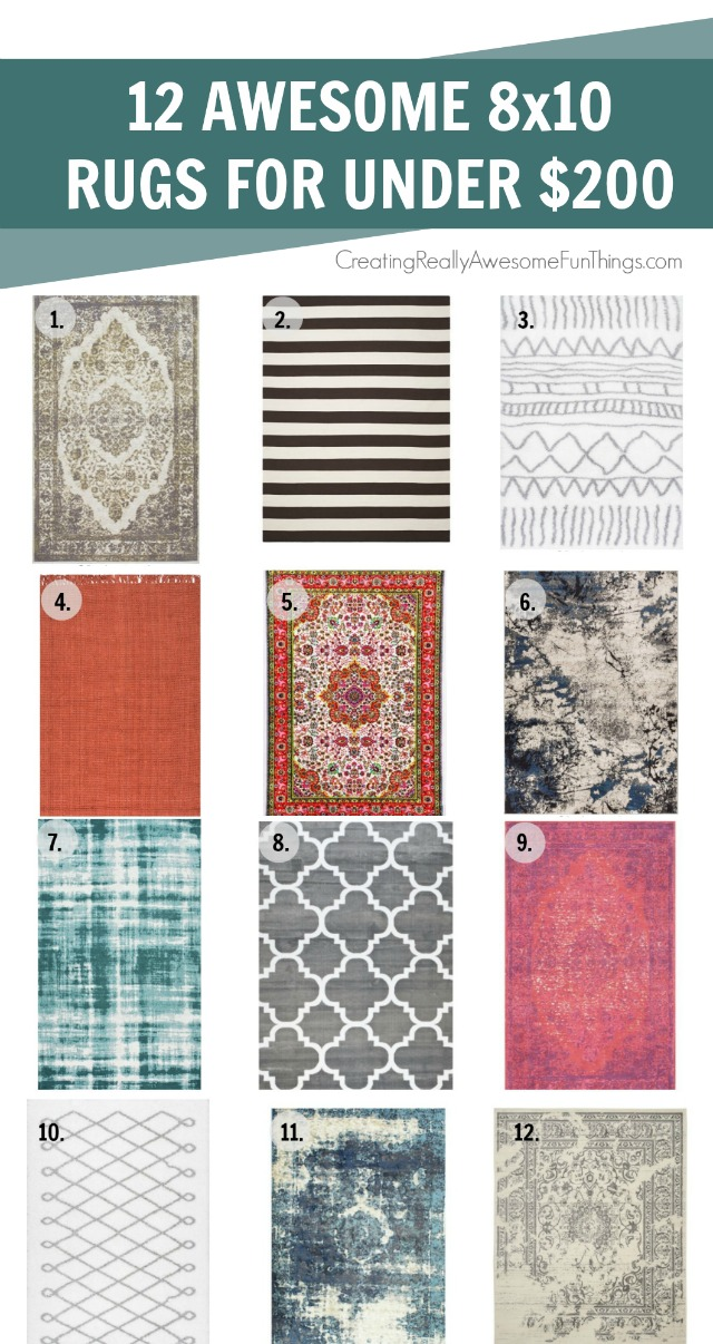 12 Area Rugs For Under 200 C R