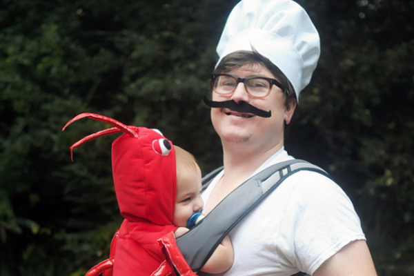 12 DIY Baby wearing costumes
