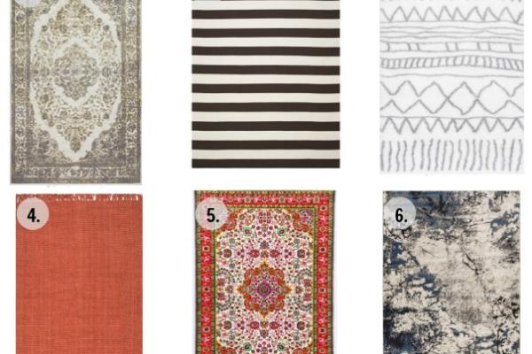 Cute, cheap area rugs