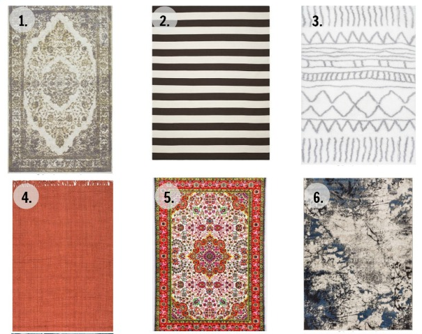 12 cute cheap area rugs for under 200 c r a f t for Cute rugs for cheap