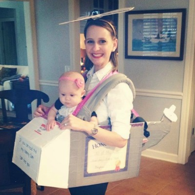 DIY Baby wearing costumes