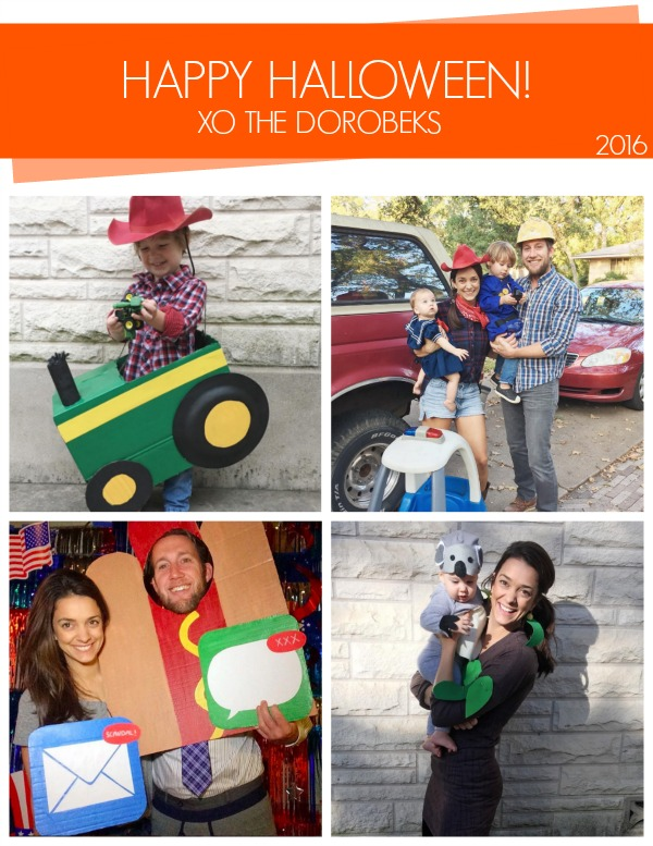 2016 DIY Dorobek Halloween Costumes