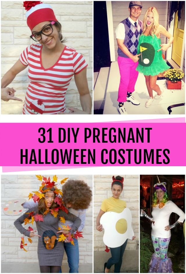 31 DIY Pregnant Halloween Costumes