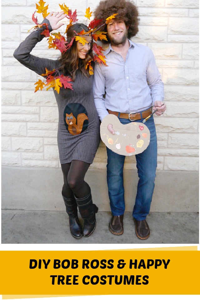 Bob Ross couples costume