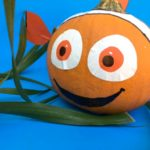 No Carve Finding Nemo Pumpkin