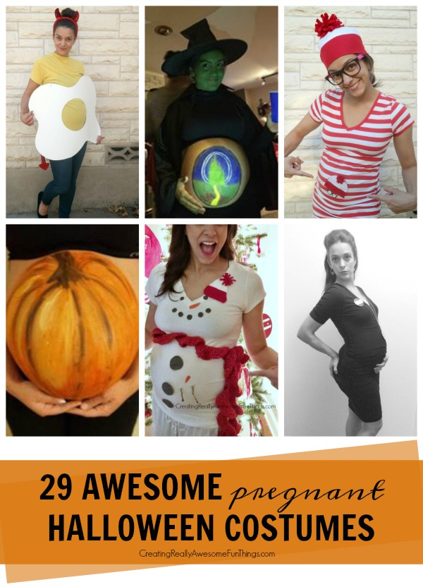 28 Pregnant Halloween costume ideas!  sc 1 st  Creating Really Awesome Fun Things & 29 DIY Pregnant Halloween Costumes - C.R.A.F.T.