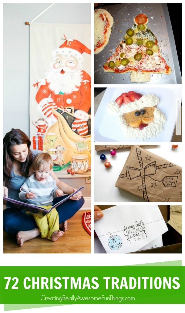 72 fun, family Christmas traditions