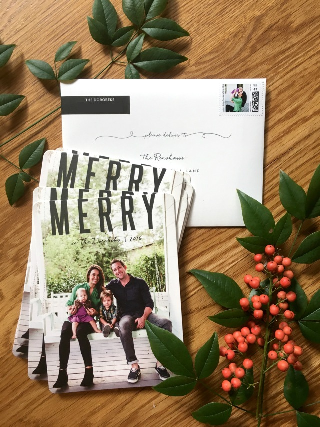 Dorobek Christmas cards