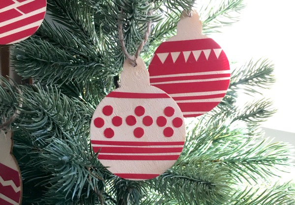Ugly Chrsitmas Sweater Inspired ornaments