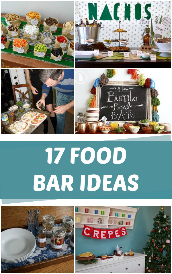DIY Food bar ideas