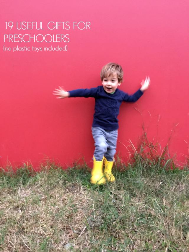 19 useful gifts for preschoolers