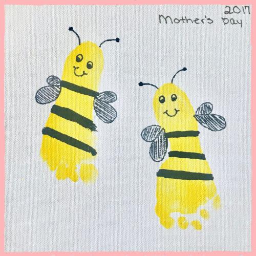 A méhek lábnyomának művészete