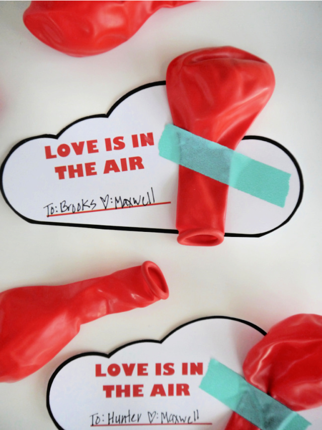 Free printable Valentine balloon (1)